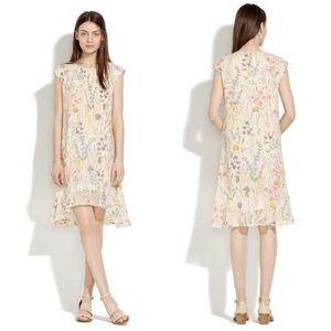 Madewell silk gardengate dress